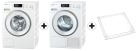 Miele WMB 100-20 CH + Miele TMB 600-40 WP + Miele WTV502 + Miele Verbindungssatz