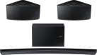 SAMSUNG HW-J8500R, schwarz + SAMSUNG WAM350, Schwarz