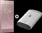 SONY Xperia XZ1 - Android Smartphone - Memoria 64 GB - Rosa + ISY IAP-3103