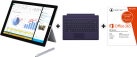 Microsoft Surface Pro 3, i5, 128 Go + Microsoft Office 365 Personal, italienne + Microsoft Surface Pro 3 Type Cover, violet