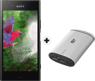 SONY Xperia XZ1 - Android Smartphone - Memoria 64 GB - Nero + ISY IAP-3103