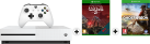 Microsoft Xbox One S + Halo Wars 2 Ultimate Edition (DLC) - 1To - Blanc + Ghost Recon: Wildlands, Xbox One, multilingue