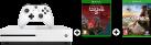 Microsoft Xbox One S + Halo Wars 2 Ultimate Edition (DLC) - 1TB - Bianco + Ghost Recon: Wildlands, Xbox One, multilingua