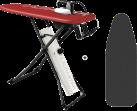 Laurastar Go+ - Bügelsystem - 1800 Watt  + Laurastar X- tremecover E Range Überzug - hitzebeständig - 6 mm Schaumstoffschicht
