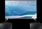 SAMSUNG UE49KS7080UXZG - LCD/LED TV - 49/123 cm - Silber + SAMSUNG WAM350 - Schwarz