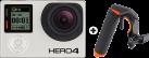 GoPro Hero 4 Black Adventure - Actioncam - Schwarz + SP GADGETS Section Pistol Trigger Set