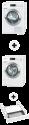 Miele WKF 100-31 CH + Miele TKG 800-50 CH s + Miele WTV511
