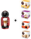 KRUPS Nescafé Dolce Gusto Mini Me (KP120H) + 4 Packungen
