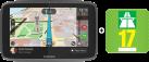 TomTom Go 5200 - Navigationsgerät - Inklusive SIM-Karte und Datenzugang - Schwarz + Autobahnvignette 2017
