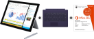Microsoft Surface Pro 3, i5, 128 Go + Microsoft Office 365 Personal, 1 licence, français + Microsoft Surface Pro 3 Type Cover, violet