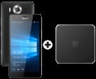 Microsoft Lumia 950 Dual SIM, schwarz + Microsoft Display Dock HD-500