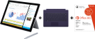 Microsoft Surface Pro 3, i5, 128 Go + Microsoft Office 365 Personal, allemand + Microsoft Surface Pro 3 Type Cover, violet
