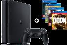 Sony PS4 Slim - Spielkonsole - 500 GB HDD - Mega Bundle