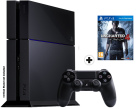 Sony PlayStation 4 1To Uncharted 4 Bundle, noir