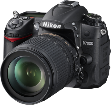 Nikon D7000, 18-105mm AF-S Kit, 16.2MP, Schwarz