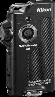 Nikon KeyMission 80 - Actioncam - 12.4 MP/4.9 MP - schwarz
