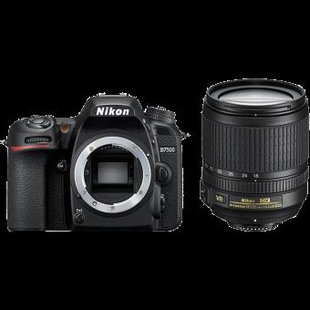 Nikon D7500 - Fotocamera reflex (DSLR) + Obiettivo - 20.9 MP - Nero