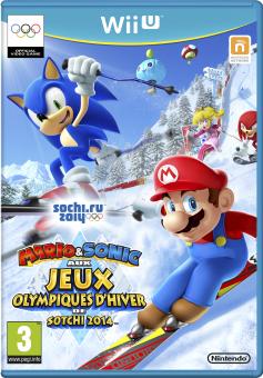 Mario & Sonic aux Jeux Olympiques D'hiver de Sotchi 2014, WiiU, francese