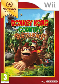 Donkey Kong Country Returns (Nintendo Selects), Wii [Versione tedesca]
