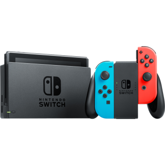 Nintendo Switch - Console de jeu - Bleu/Rouge