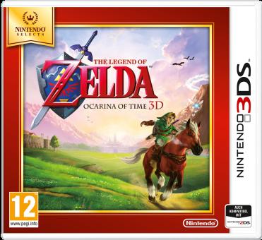 3DS - Legend of Zelda: Ocarina of Time 3D /D