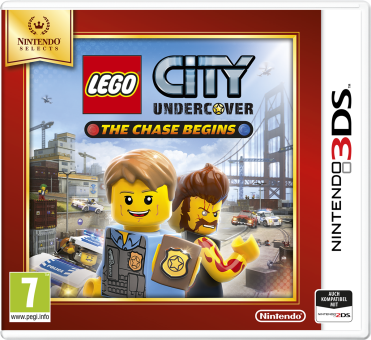 Lego City Undercover: The Chase Begins (Nintendo Selects), 3DS [Version italienne]