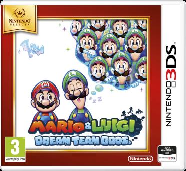 3DS - Mario&Luigi Dream Team Bros. /D