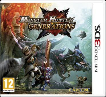 3DS - Monster Hunter: Generations /D