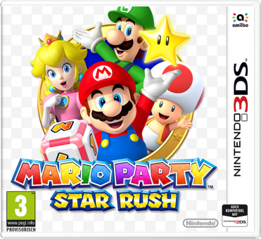 3DS - Mario Party Star Rush /D