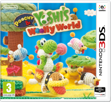 3DS - Poochy&Yoshis W. World /I