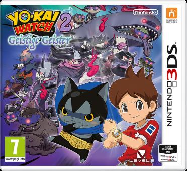 YO-KAI WATCH 2: Geistige Geister, 3DS [Versione tedesca]