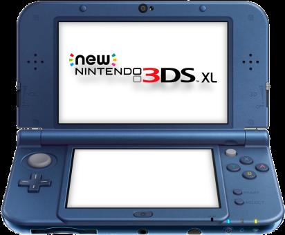 New Nintendo 3DS XL, blau, deutsch/französisch