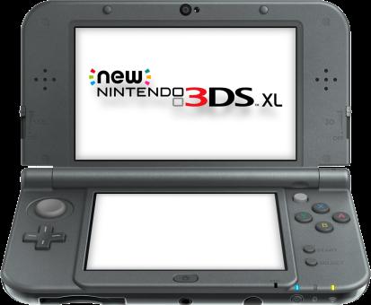 New Nintendo 3DS XL, schwarz, deutsch/französisch