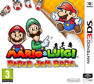 3DS - M&L Paper Jam Bros /F