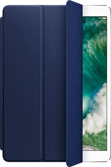 Apple iPad Pro 10.5 Smart Cover Leather - Blu notte