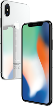 Apple iPhone X - iOS Smartphone - 256 Go - Argent