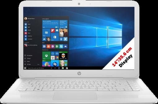 hp Stream 14-ax020nz - Notebook - 32 GB eMMC - Weiss