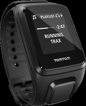 TomTom Spark 3 Cardio + Music - Activity Tracker - Taille L - noir