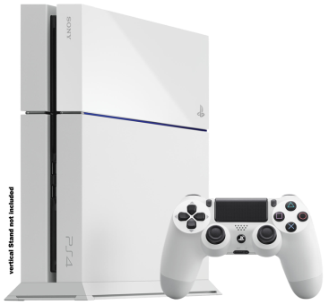 Sony PlayStation 4 500GB, weiss