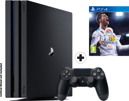 sony playstation 4 pro fifa 18 konsole 1 tb. Black Bedroom Furniture Sets. Home Design Ideas