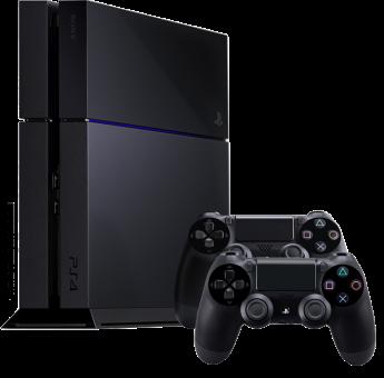 Sony PlayStation 4 500GB inkl. 2 Controller, schwarz