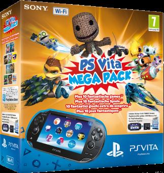 Sony PlayStation Vita Slim Wi-Fi +  Memory Card 8GB Mega Pack Kids