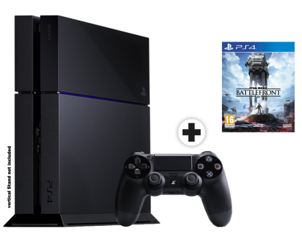 Sony PlayStation 4 1 TB & Star Wars: Battlefront, multilingual