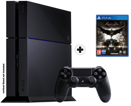 Sony Playstation 4 500 GB + Batman: Arkham Knight - Konsole + Game