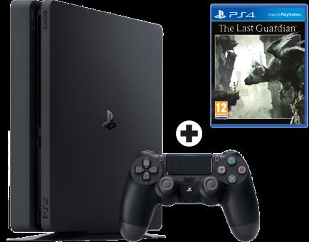 """Résultat de recherche d'images pour """"Pack PS4 1To Black Slim + The Last Guardian"""""""