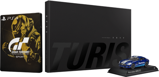 Gran Turismo Sport - Collector's Edition, PS4, multilingual