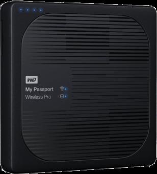 Western Digital My Passport Wireless Pro Wdbp2P0020Bbk Disque dur Noir