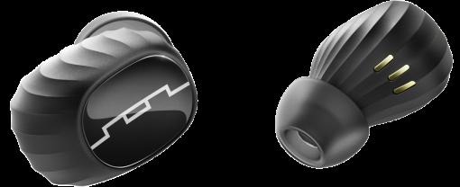 SOL REPUBLIC Amps Air - In-Ear-Kopfhörer - Mit 2200mAh Powercase - Schwarz