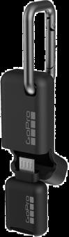 GoPro Lecteur de cartes microSD mobile Quik Key (Micro-USB) - Noir