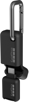 GoPro Quik Key (Micro-USB) mobiler microSD-Kartenleser - Schwarz